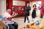 """Hoje em """"Segundo Sol"""": Agenor revela caso de Maura e Ionan João Miguel Júnior / TV Globo/TV Globo"""