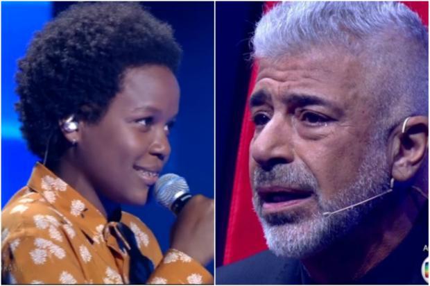 """""""The Voice Brasil"""": Lulu Santos se emociona e diz """"eu te amo"""" para participante TV Globo / Reprodução/Reprodução"""