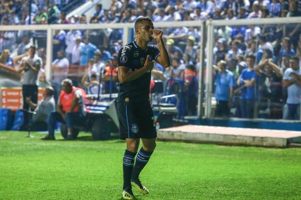 """Luciano Périco: """"Titularidade definitiva de Alisson no time do Grêmio está próxima"""" LUCAS UEBEL/GREMIO FBPA"""