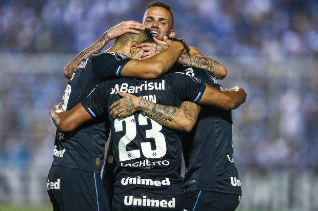 "Cacalo: ""Sigam o Grêmio na Libertadores"" LUCAS UEBEL/GREMIO FBPA"