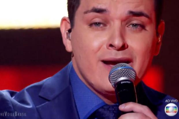 """""""The Voice Brasil"""": Léo Pain se classifica para a semifinal do programa Reprodução/TV Globo/Divulgação"""