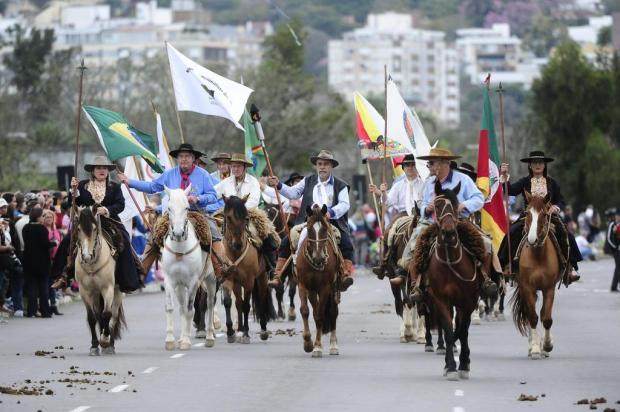 Veja como foi o Desfile Farroupilha em Porto Alegre Ronaldo Bernardi/Agencia RBS