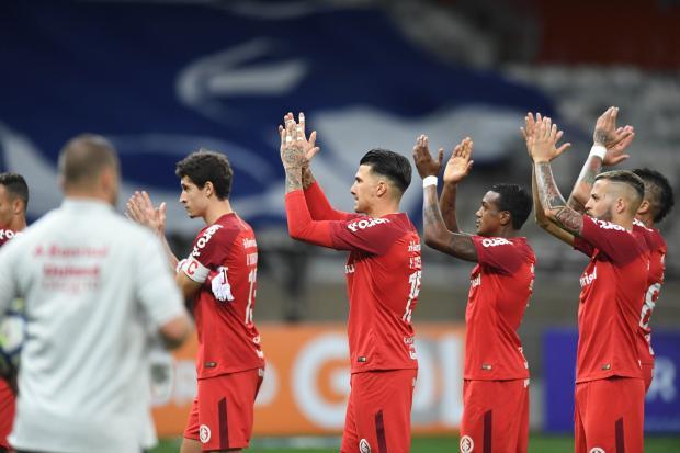 """Lelê Bortholacci: """"Estamos muito vivos na disputa pelo título do Brasileirão"""" Ricardo Duarte / Sport Club Internacional/Sport Club Internacional"""