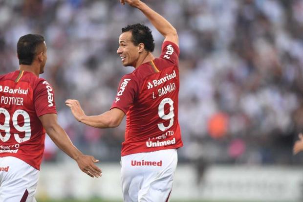 """Guerrinha: """"Com Damião, Inter melhorou e muito"""" Ricardo Duarte / SC Internacional/SC Internacional"""