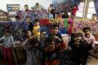 Venda de quadros produzidos por alunos compra ventiladores para escola Carlos Macedo/Agencia RBS