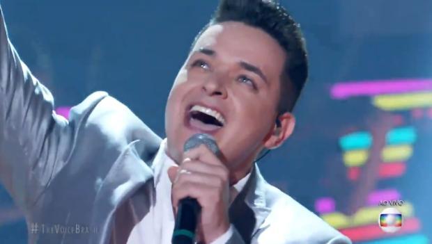 """The Voice Brasil"": Léo Pain se classifica para a final do programa Reprodução / TV Globo/TV Globo"
