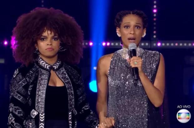 Primeiro PopStar ao vivo da temporada é marcado por falhas técnicas e discurso político Reprodução/TV Globo