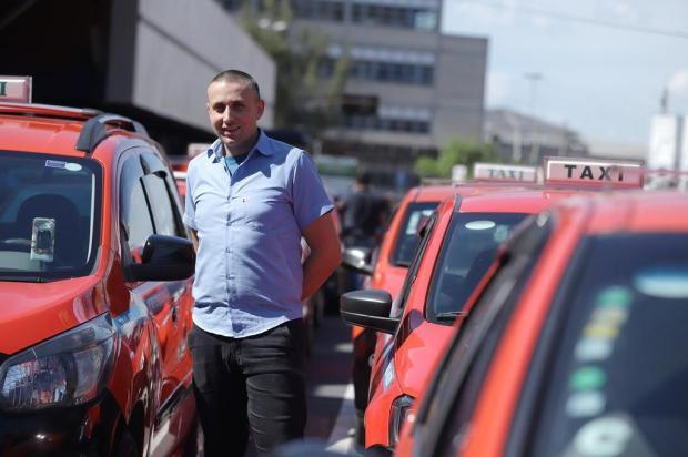 Taxistas de Porto Alegre comentam as medidas da nova Lei dos Táxis Isadora Neumann/Agencia RBS