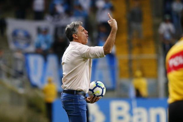 """Luciano Périco: """"Brasileirão ainda está longe do fim para a dupla Gre-Nal"""" Félix Zucco/Agencia RBS"""