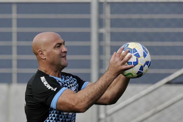 """Cacalo: """"Boa fase dos goleiros se deve à preparação"""" Mateus Bruxel/Agencia RBS"""