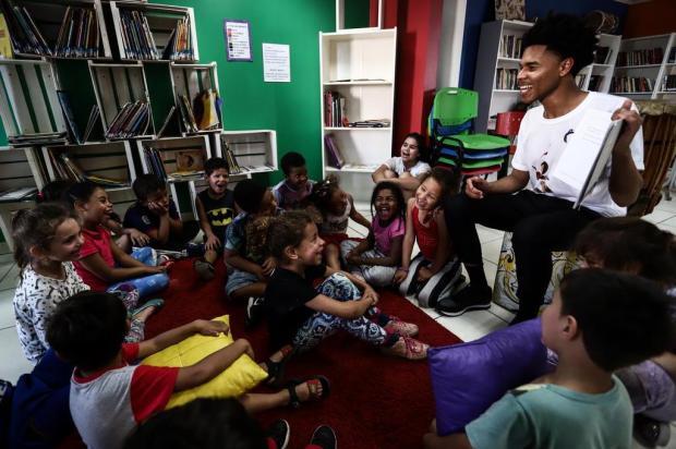FOTOS: ONG Cirandar incentiva a leitura infantil em comunidades da Capital Carlos Macedo/Agencia RBS