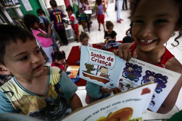 ONG de incentivo à leitura infantil faz 10 anos na Capital Carlos Macedo/Agencia RBS