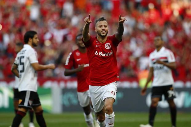 """Guerrinha: """"Inter somou três pontos indispensáveis para seguir nas pegadas do líder"""" Félix Zucco/Agencia RBS"""