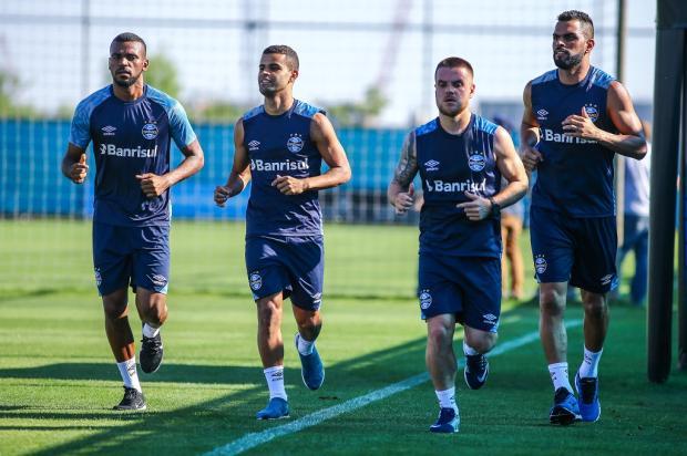 """Luciano Périco: """"O inferno das lesões para Grêmio e Inter"""" LUCAS UEBEL / GR¿?MIO FBPA/GR¿?MIO FBPA"""