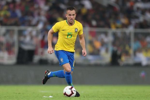 """Cacalo: """"Arthur foi uma perda irreparável para o Tricolor"""" Lucas Figueiredo/CBF/Divulgação"""