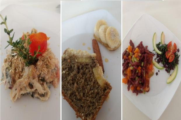 Aprenda três receitas para se alimentar bem e de forma integral Cáren Cecília Baldo / Leitor/DG/Leitor/DG