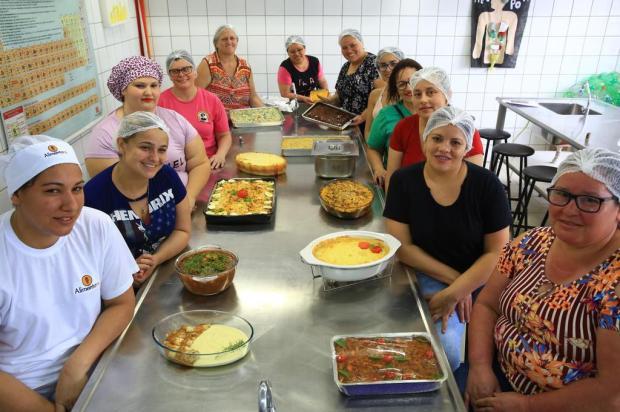 Merendeiras participam de concurso de culinária em Sapucaia do Sul Tadeu Vilani/Agencia RBS