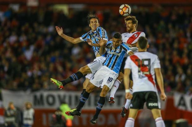 """Luciano Périco: """"Grêmio faz o jogo do ano em Porto Alegre até aqui"""" Lucas Uebel/Gremio.net"""