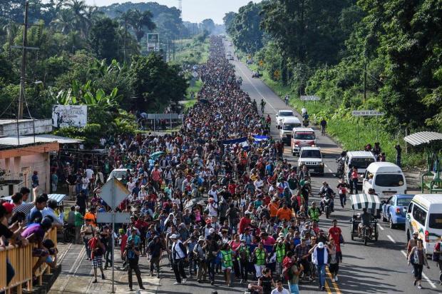 Diário Gaúcho te ajuda a entender a marcha de hondurenhos até os Estados Unidos Pedro Pardo/AFP