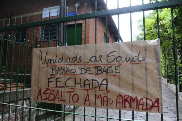 Após assalto, posto de saúde não abre para atendimento em Porto Alegre Ronaldo Bernardi/Agência RBS
