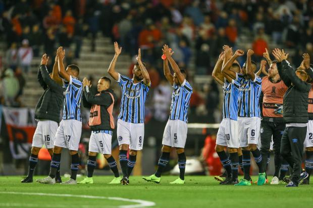 """Cacalo: """"Tudo é Libertadores para o Grêmio e nada mais nos interessa"""" Lucas Uebel / Grêmio FBPA/Grêmio FBPA"""