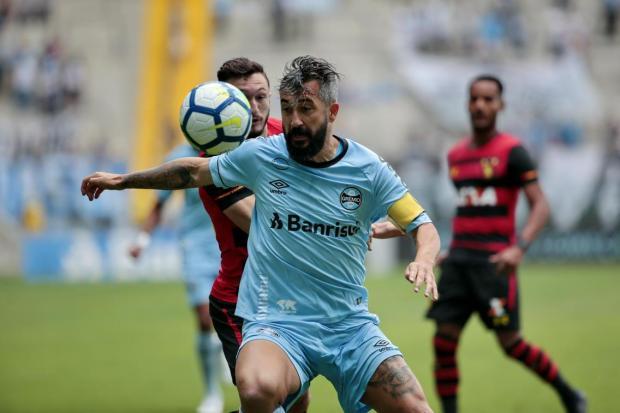 """Cléber Grabauska: """"Apesar de toda a história, Douglas já não tinha a mesma importância para o Grêmio"""" André Ávila/Agência RBS"""