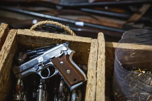 Rio Grande do Sul tem recorde de armas registradas Omar Freitas/Agencia RBS