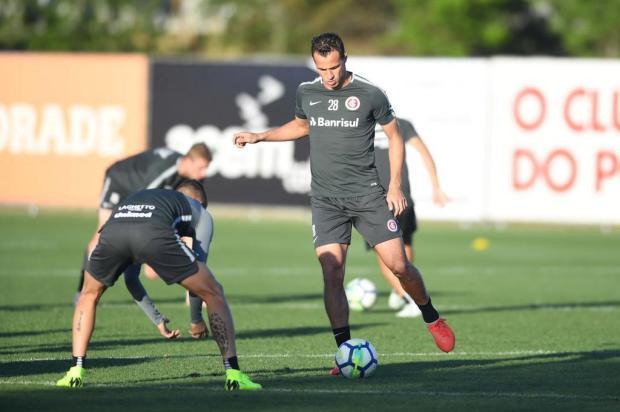 """Lelê Bortholacci: """"Inter ganha duas opções importantes para o jogo contra o Atlético-PR"""" Ricardo Duarte/Internacional"""
