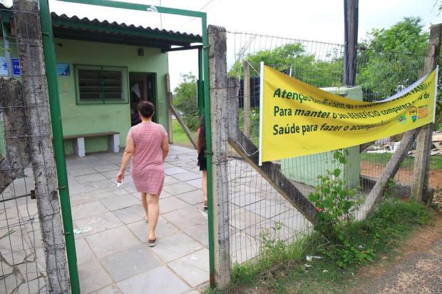 """""""Atendimento é muito bom. O problema é a violência"""", conta usuária de posto de saúde da Capital Tadeu Vilani/Agencia RBS"""