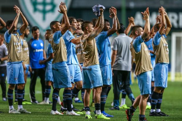 """Guerrinha: """"Grêmio precisa se atirar de corpo e alma no Brasileirão"""" LUCAS UEBEL / GR¿?MIO FBPA/GR¿?MIO FBPA"""