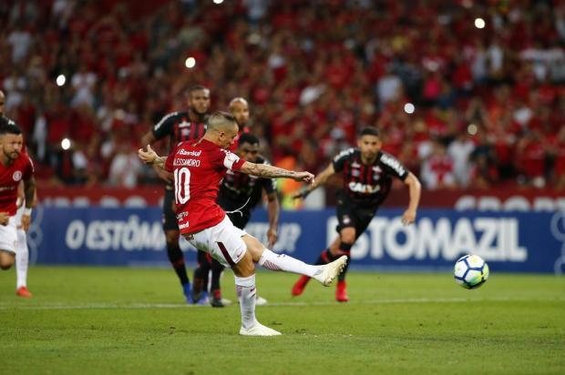 """Luciano Périco: """"Resultado foi infinitamente melhor do que a atuação do Inter"""" Félix Zucco/Agencia RBS"""