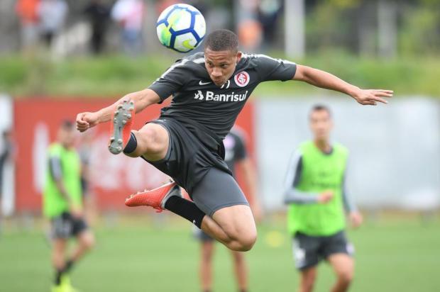 """Guerrinha: """"Wellington Silva passa a ser a primeira opção de banco no ataque do Inter"""" Ricardo Duarte/Inter/Divulgação"""