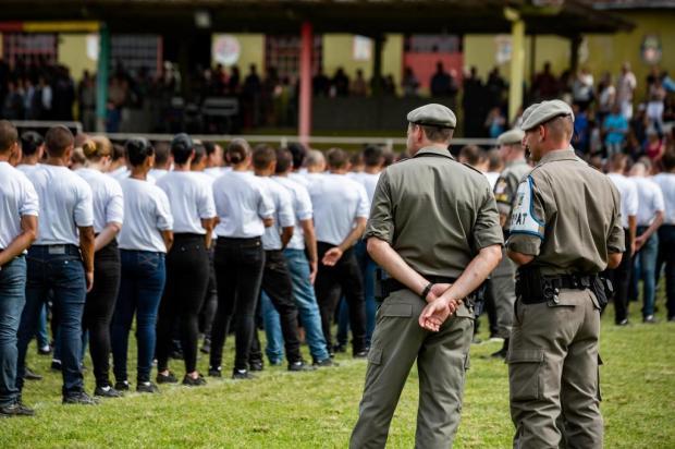 Dois mil novos soldados da Brigada Militar atuarão a partir de fevereiro nas ruas Omar Freitas/Agencia RBS
