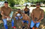 Conheça o grupo da Agronomia que vem chamando atenção em rodas de samba no Gasômetro (Júlio Cordeiro/Agencia RBS)