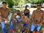 Conheça o grupo da Agronomia que vem chamando atenção em rodas de samba no Gasômetro Júlio Cordeiro/Agencia RBS