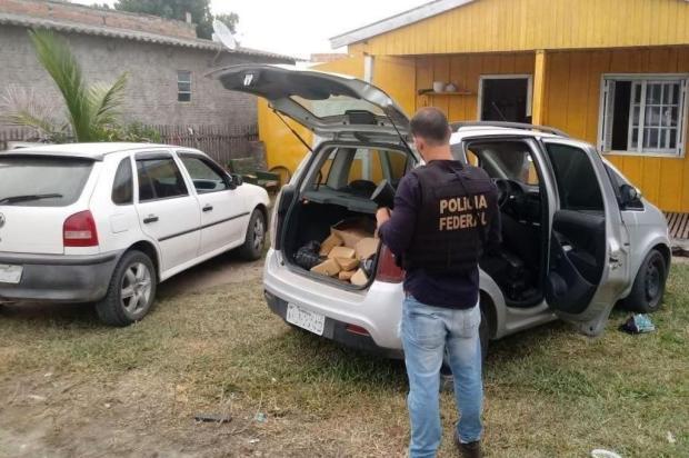 Tráfico de maconha torna Chuy o município mais violento do Uruguai Divulgação/Polícia Federal