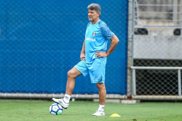 """Guerrinha: """"Tudo indica que o casamento de Renato com o Grêmio vai seguir em 2019"""" Lucas Uebel / Grêmio/Divulgação/Grêmio/Divulgação"""