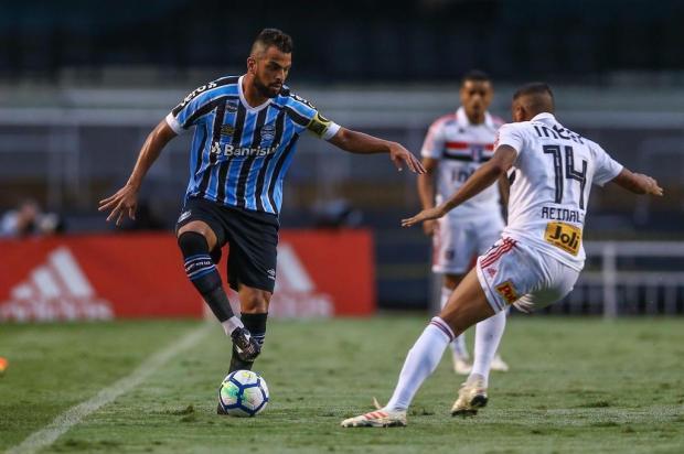 """Luciano Périco: """"Empate fora de casa foi um bom negócio para o Grêmio"""" Lucas Uebel/Gremio.net"""