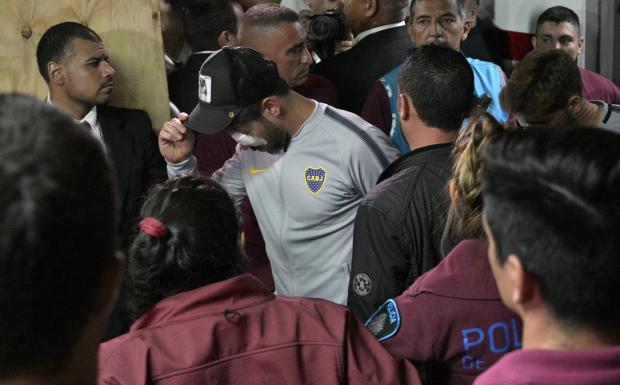"""Cacalo: """"Confusão na final da Libertadores foi apenas a cereja do bolo"""" Juan MABROMATA / AFP/AFP"""