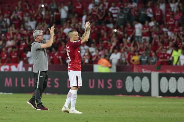 """Lelê Bortholacci: """"Despedida do Beira-Rio em 2018 veio com o prêmio que todos os colorados queriam"""" Mateus Bruxel/Agencia RBS"""