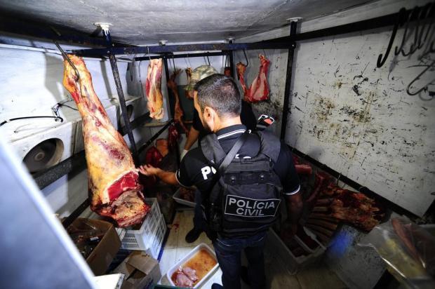 Empresários são presos na Região Metropolitana suspeitos de receptação de carne roubada Ronaldo Bernardi/Agencia RBS