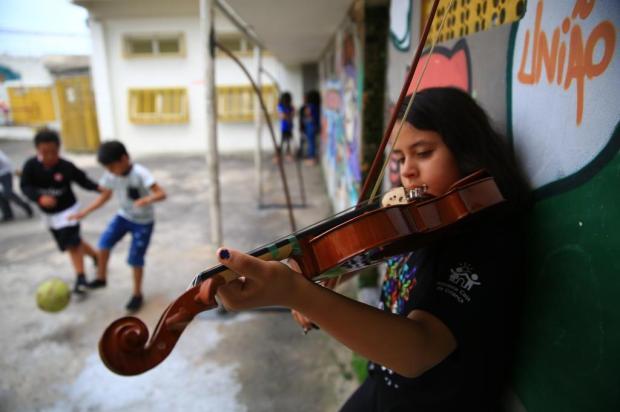 FOTOS: Orquestra Pequena Casa da Criança Tadeu Vilani/Agencia RBS