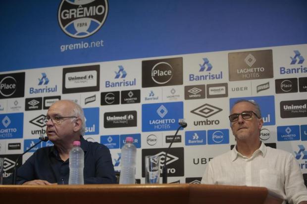 """Cacalo: """"É hora de os dirigentes trabalharem mais que o normal"""" André Ávila/Agencia RBS"""