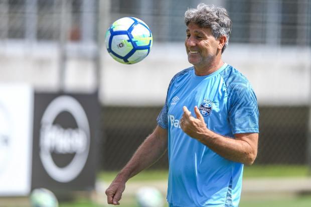 """Cacalo: """"Com o coração recuperado, Renato logo estará pronto para enfrentar as emoções deste 2019"""" Lucas Uebel / Grêmio, Divulgação/Grêmio, Divulgação"""