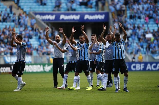 """Luciano Périco: """"Grêmio fecha o ano com passaporte carimbado"""" Félix Zucco/Agencia RBS"""