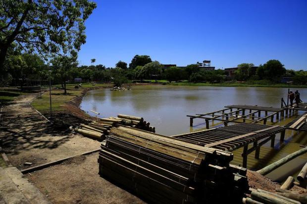 Lagoa do Cocão, em Alvorada, passa por revitalização Mateus Bruxel/Agencia RBS