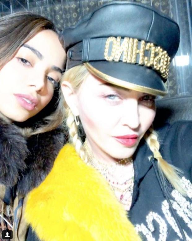 Madonna confirma parceria com Anitta Reprodução/Instagram