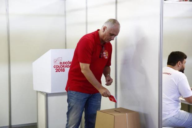 """Lelê Bortholacci: """"Foi uma vitória merecida do presidente Marcelo Medeiros"""" Robinson Estrásulas/Agência RBS"""