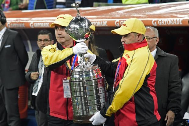 """Cacalo: """"Vou torcer para que, em 2019, a Libertadores retome sua seriedade e lisura"""" Javier Soriano / AFP/AFP"""