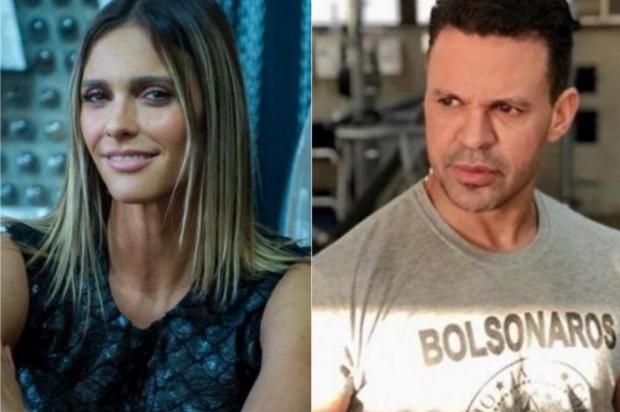 Insultada, Fernanda Lima não aceita desculpas de Eduardo Costa e processa cantor Colagem/Reprodução